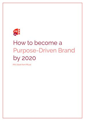 Cover of the ebook How to become a Purpose Driven brand by 2020