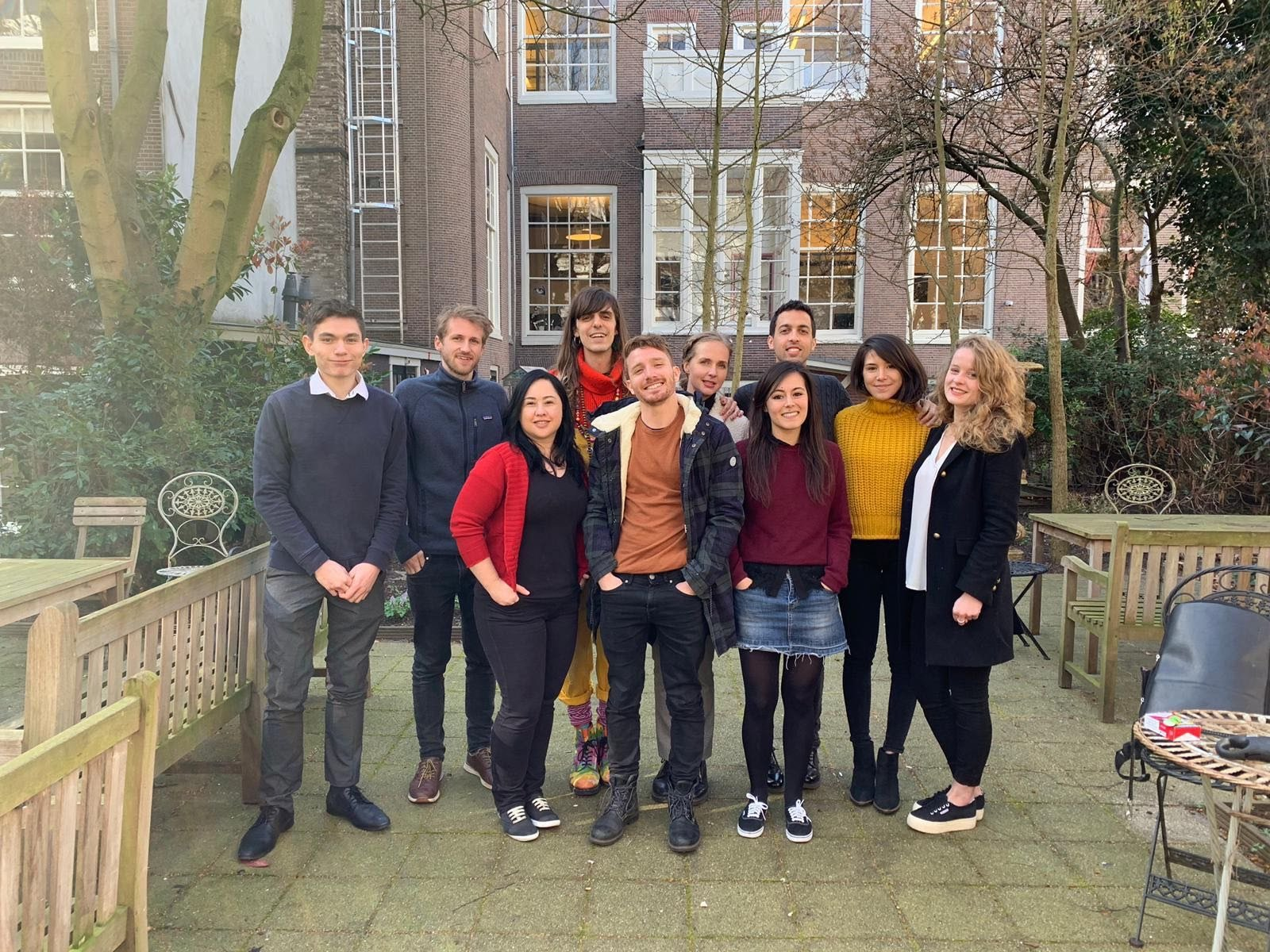 Photo of PRLab's team in Amsterdam