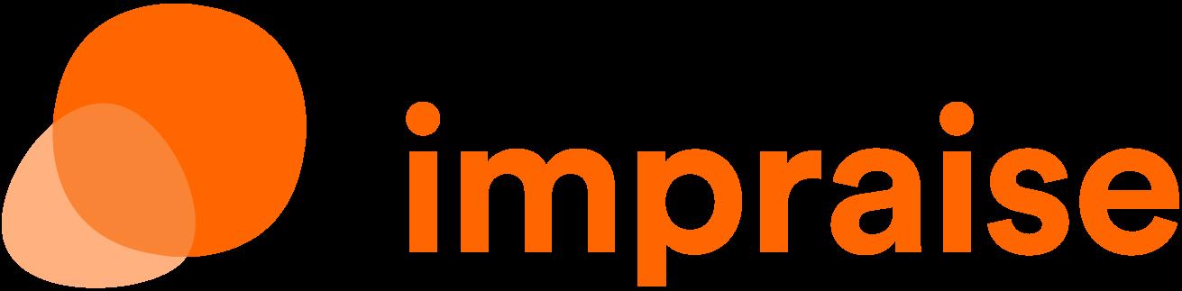 Logotyp för Impraise, klient för PRLab Amsterdam