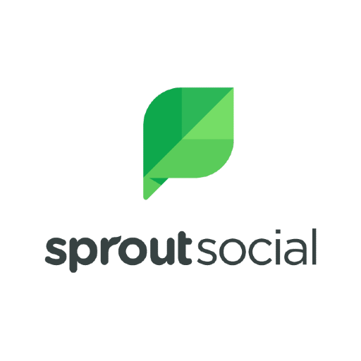 Logo of Sprout social, media where the clients of our consumer tech pr agency get featured