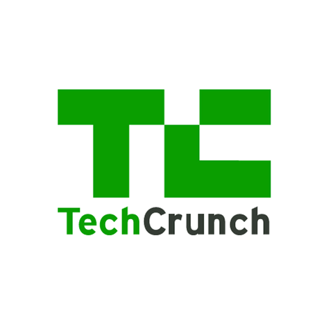 Logo of Tech Crunch media where the clients of our high tech pr agency get featured