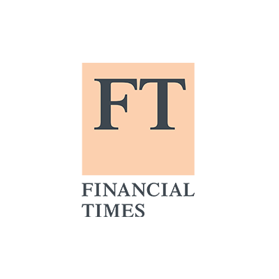 Logo of Financial Times media where the clients of our cleantech pr agency get featured