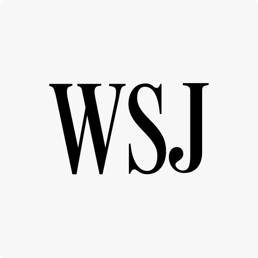 Logo of WSJ media where the clients of our fintech pr agency get featured
