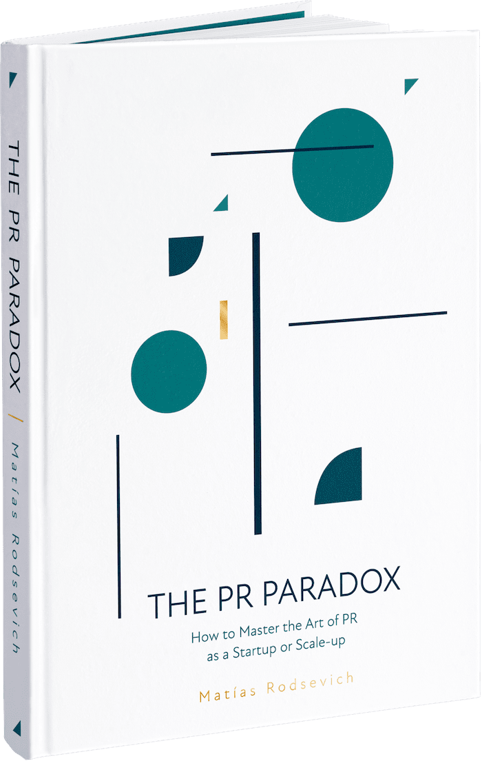 Cover of the PR Paradox, the best pr book