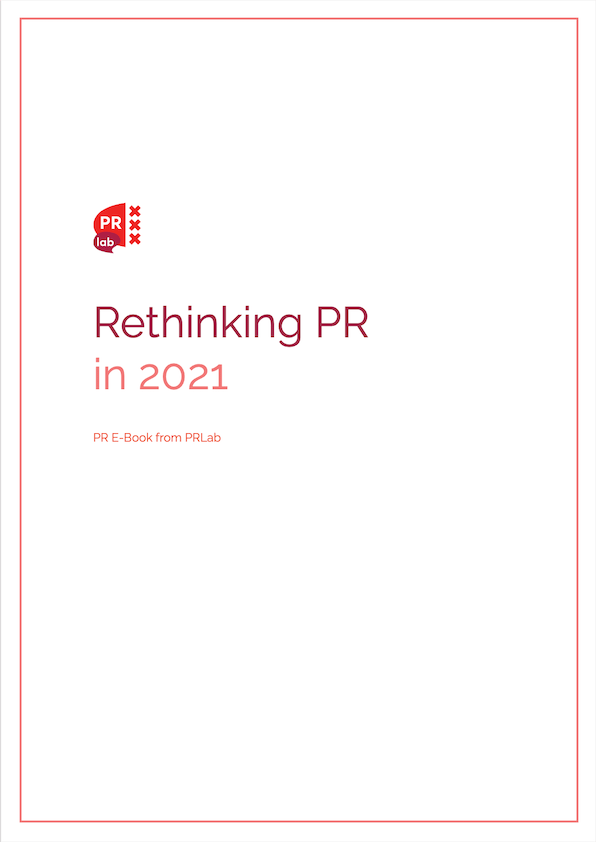Cover of the ebook Rethinking PR in 2021