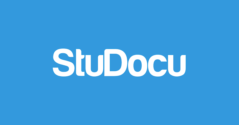 Banner of StuDocu, client of PRLab Amsterdam