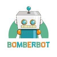 Logo van Bomberbot, opdrachtgever van PRLab Amsterdam