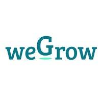 Logo van WeGrow, opdrachtgever van PRLab Amsterdam