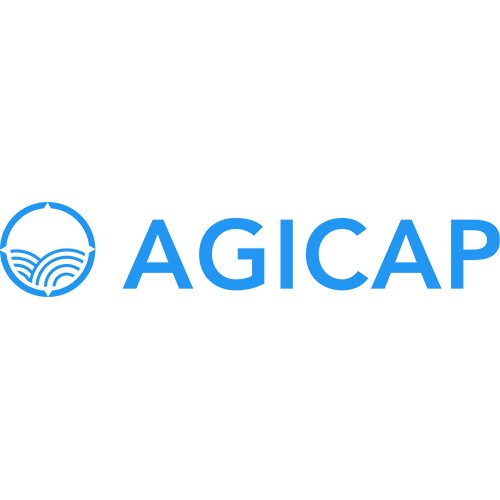 Official logo of AgiCap, client of PRLab