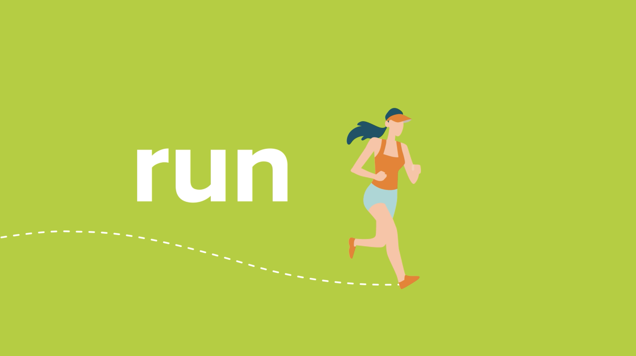 illustrations created by our graphic designers in the Netherlands for LeasePlan Run to the Moon Challenge