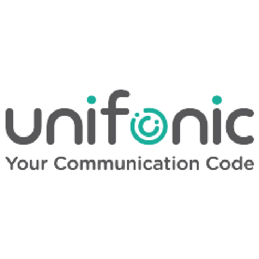 Logo of Unifonic, client of PRLab.