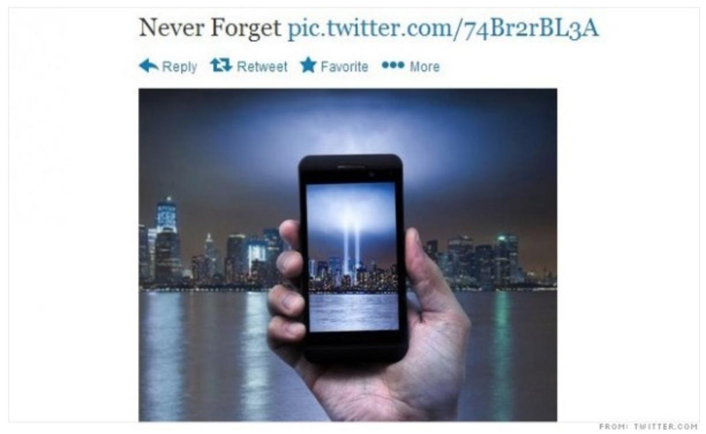 Tweet of AT&T, example of bad newsjacking.